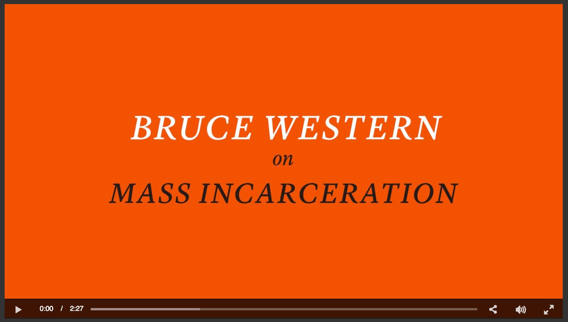 Video on Mass Incarceration
