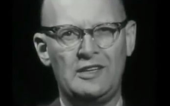 Arthur C. Clarke speaks
